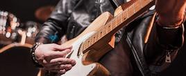 Photo de guitare électrique