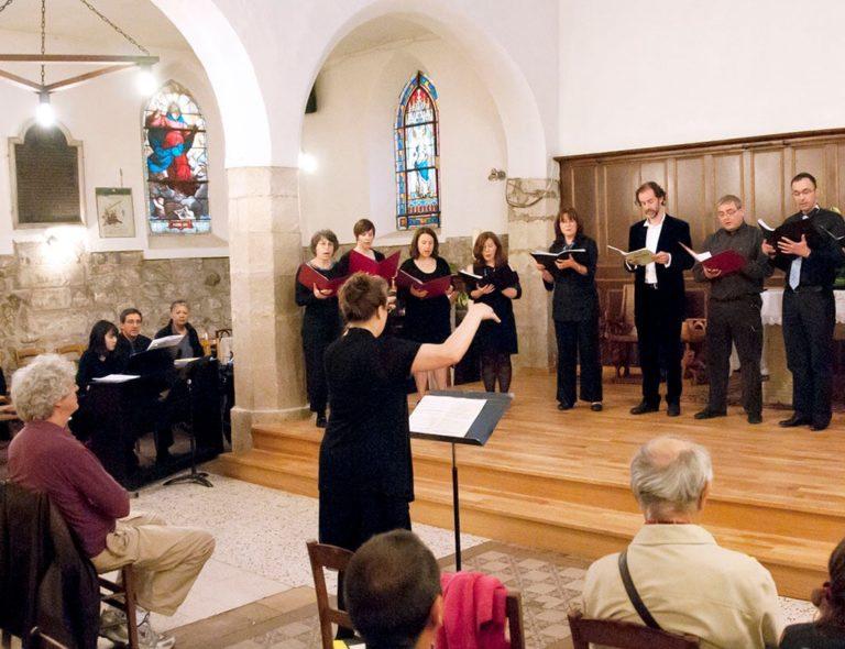 Répétition des chœurs à l'Église de Sevran