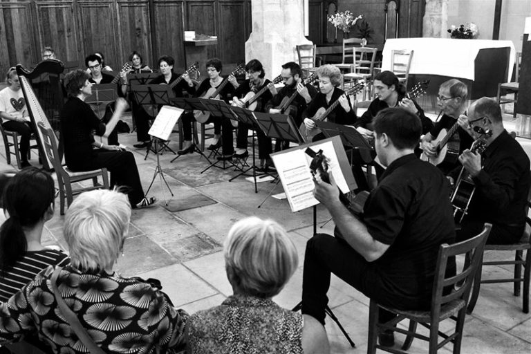 Photo de Guitare Ensemble Paris en concert
