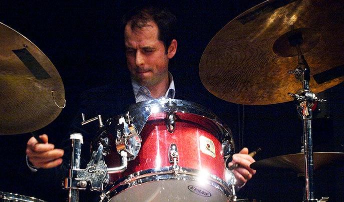 Olivier Portail, batteur jazz - professeur à Mélodix