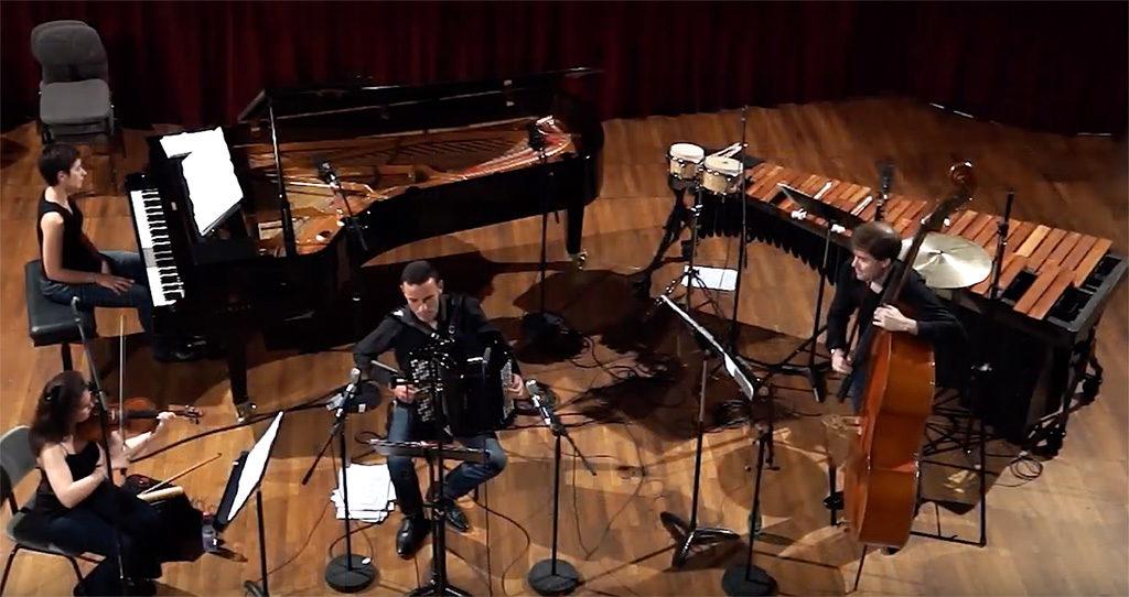Le SpiriTango Quartet joue l'opus 51 en trois mouvements d'Alexandre Fontaines