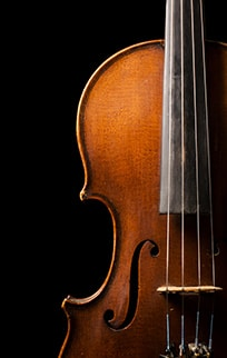 Photo d'un violon alto
